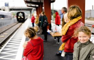 tåg till Kristianstad